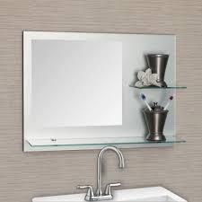 Bathrooms Design Gold Mirror Frameless Bathroom Led Mirrors