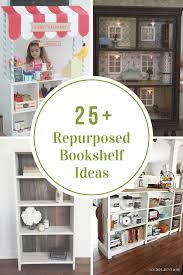 25 diy repurposed bookshelf ideas