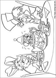 Small Picture Free coloring page coloring adult disney drawing alice in