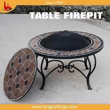 round outdoor table top. Garden Patio Table Top Fire Pit/round Pit Round Outdoor