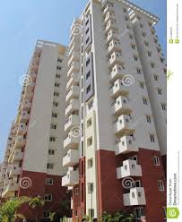 Residential Apartment Building In India Stock Image Image Of