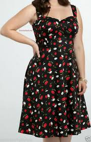 Details About Retro Chic Cherry Swing Dress Plus Sizes Torrid Free Priority Ship