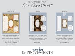 area rug measurements how to choose a rug for an apartment area rug sizing rules of