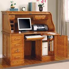 Image of: Style Roll Top Computer Desk