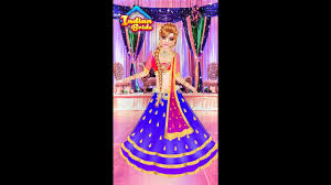 indian doll bridal collection dress up a bride s game kids game