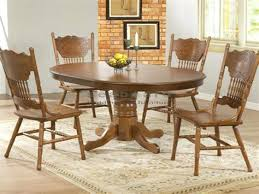 antique round kitchen table round oak dining room table and chairs oak round dining table set
