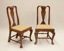Queen Anne Side Chairs