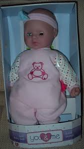YOU AND ME Soft 18 Inch Baby Doll -New In Package - $40.00 | PicClick
