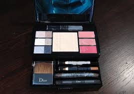 dior travel studio makeup palette collection voyage mugeek vidalondon