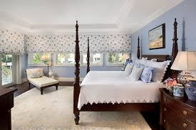 Private Residence in British Colonial style traditional-bedroom