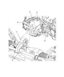 2010 chrysler sebring engine mounting thumbnail 23