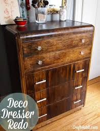art deco furniture restoration. how to restore an art deco dresser crafthabitcom furniture restoration a