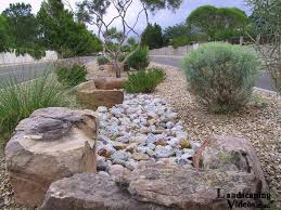 Large decorative rocks Arizona Petrified Fake Rvier Bed Desert Xeriscape The Large Decorative Rocks Add Some Dramatic Effect To This One Pinterest Fake Rvier Bed Desert Xeriscape The Large Decorative Rocks Add