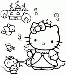 Coloriage Hello Kitty Grand Format Printable Hello Kitty