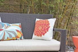 Outdoor Excellent Pillow Fight DIY Outdoor Pillows