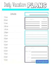Holiday Planner Template Staff Vacation Planner Template Naomijorge Co