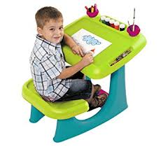 Keter Sit & Draw Kids Art Table Creativity Desk with Arts & Crafts Storage  and Removable
