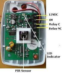pir sensor circuits reuk co uk honeywell is3012 manual at Honeywell Pir Sensor Wiring Diagram