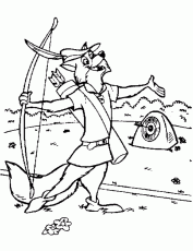 Small Picture Robin Hood Coloring Page Coloring Home