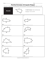Area And Perimeter Of Irregular Shapes Worksheets Free Worksheets ...
