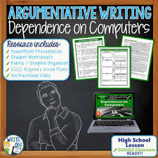 Dependence On Computers Essay Argumentative Writing W Essay Graphic Organizer Rubric Dependence On Computers