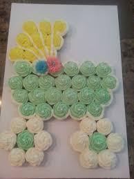 Cupcake Gallery  Miss Moffettu0027s Mystical CupcakesPull Apart Baby Shower Cupcakes
