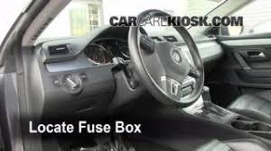 interior fuse box location 2009 2016 volkswagen cc 2009 2009 2016 volkswagen cc interior fuse check