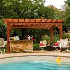 Simple Pergola your spring backyard makeover pergolas quality buildings 3481 by xevi.us