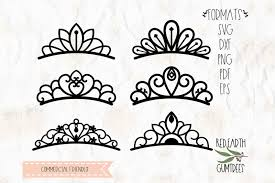 You may not forward, share, sell or distribute the file(s), in whole or in part. Free Princess Tiara Crown Svg Png Eps Dxf Pdf For Cricut Cameo Crafter File New Free Svg Files