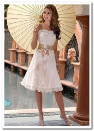 casual afternoon tea length wedding dresses wedding short dresses