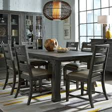 weathered wood dining table. Abington Wood Dining Table In Weathered Charcoal A
