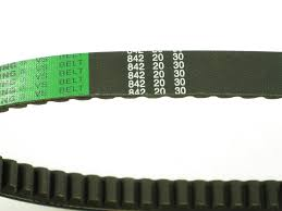 Scooter Belt Size Chart Drive Belt 842 20 30