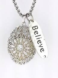 antique silver cage essential oil diffuser necklace