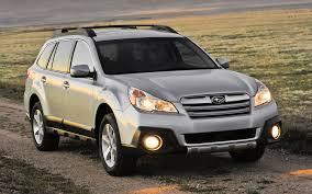 subaru outback 2014. Brilliant Subaru 2014 Subaru Outback Legacy Get Minor Price Bumps On Outback A
