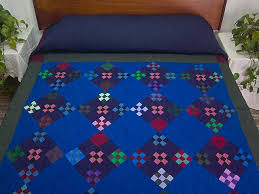Double Nine Patch Quilt -- exquisite smartly made Amish Quilts ... & Amish Double Nine Patch Quilt Photo 1 ... Adamdwight.com