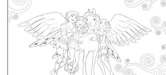 Mia And Me Coloring Pages Tonyshume