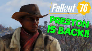 Fallout 76 Preston Garvey Trolling - Another Settlement Needs Our Help -  YouTube