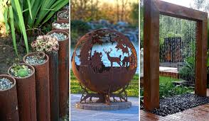 diy outdoor projects. Exellent Projects 20 Amazing DIY Ideas For Outdoor Rusted Metal Projects Throughout Diy