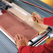 cutting edge table saw hacks construction pro tips cut skinny strips safely