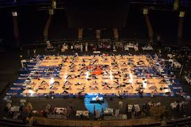 thumbnail for yes yoga is taking over the world madison square garden edition