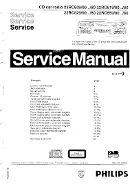 PHILIPS 22RC609 619 629 659 SM Service ...