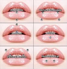 Facial Piercing Chart Piercings Piercings And Tattoos Lip Piercing Face