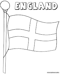 Scottish Flag Colouring Page 11128