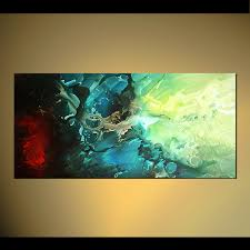 canvas contemporary vertical painting hummingbird fine art painting