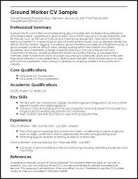 Freelance Writer Resume Objective Freelance Writer Resume Sample My Resume Sample Ground Worker 53
