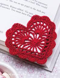 Heart Crochet Pattern Awesome Heart Bookmark Crochet Pattern Free