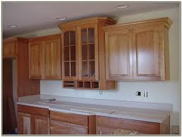 Kitchen Crown Moulding Crown Moulding For Shaker Style Cabinets Cabinet Home