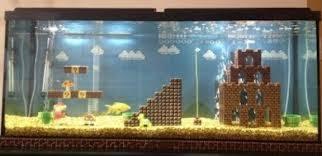 Super Mario Bros Images Super Mario Bros In A Fish Tank Wallpaper