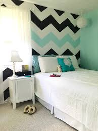 White And Turquoise Bedroom How To Paint Chevron Stripes Black White Turquoise Memehill