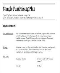 Nonprofit Business Plan Template Strategic Plan Template For Nonprofits Info Free Sample